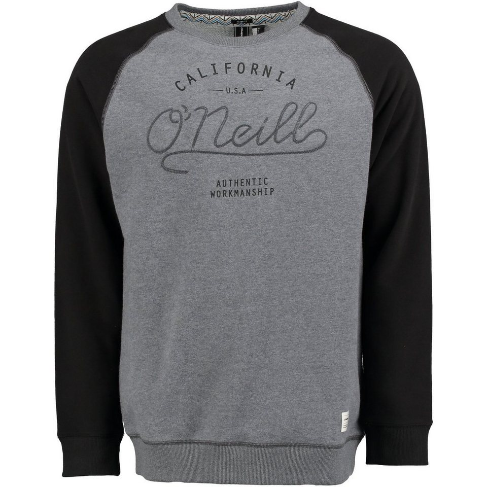 O'Neill Sweatshirt »Pacific Coast Highway Crew« in Schwarz