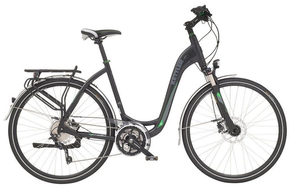 Kettler Trekking Bike Damen, 28 Zoll, 30 Gang-Shimano , »Explorer HD« in graphite matt