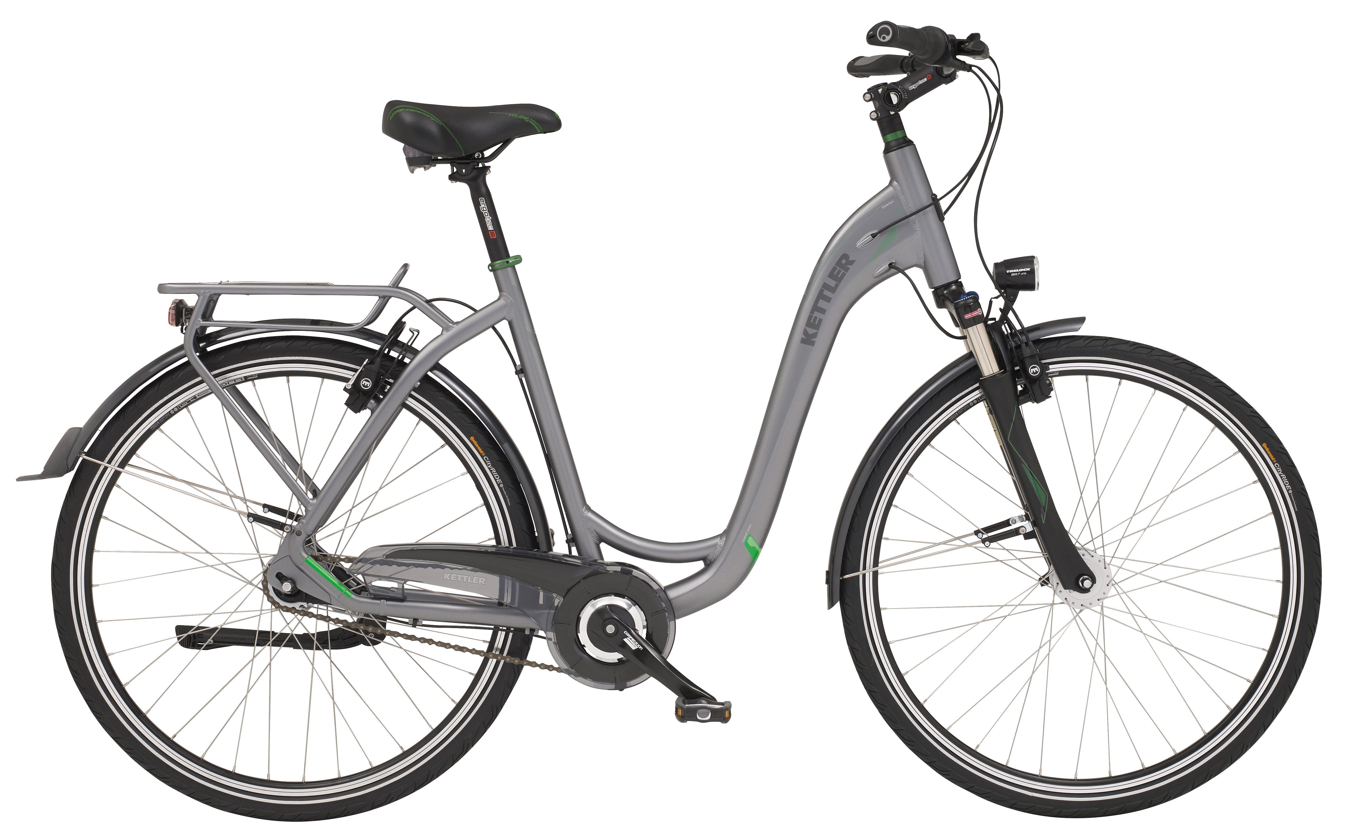 Kettler City Bike Damen, 28 Zoll, 7 Gg.-Shimano Schaltung, hydr. Felgenbremse, Rücktritt , »City HD«
