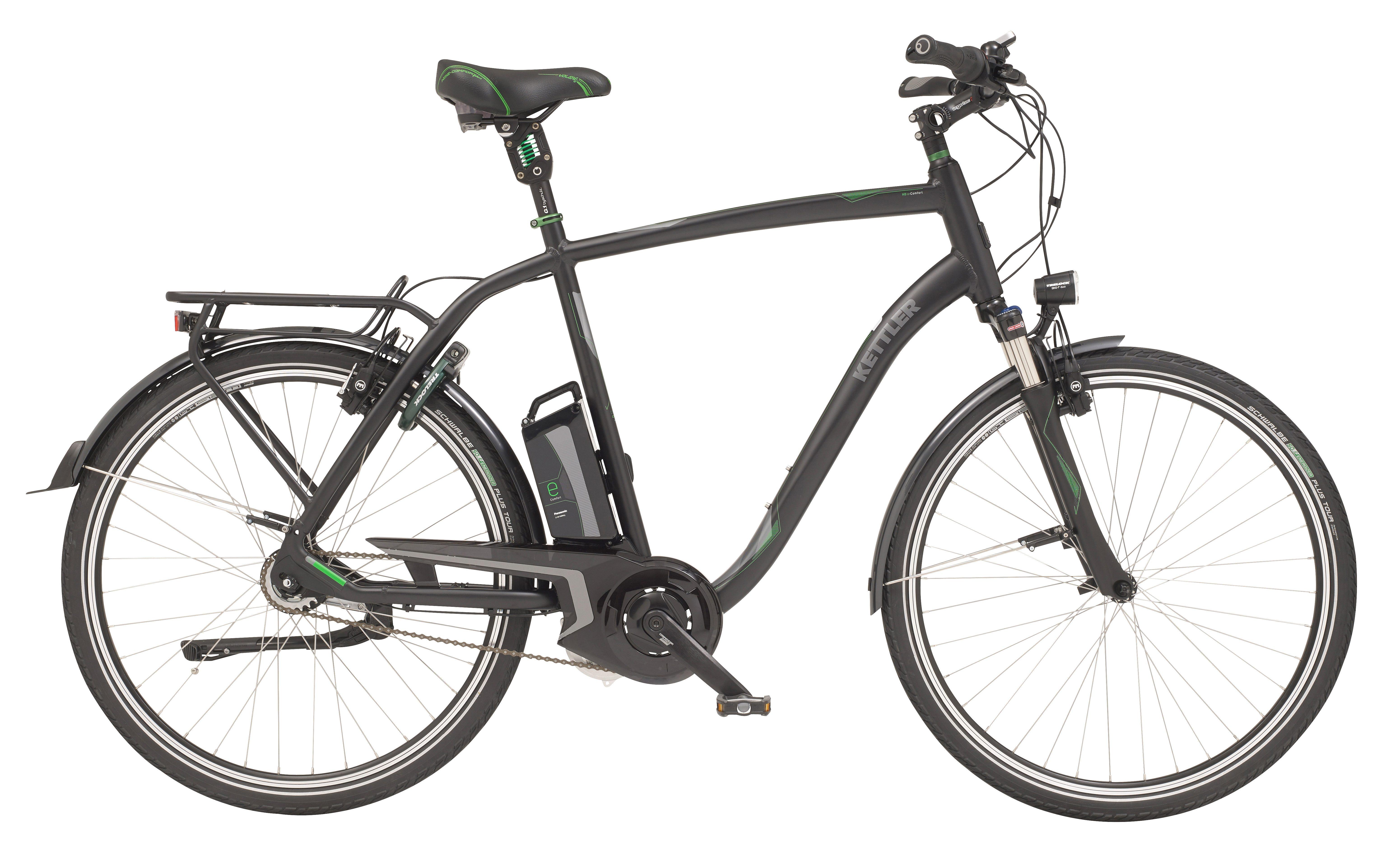 Kettler E-Bike »City HDE Comfort«, 8 Gang Shimano Deore Schaltwerk, Mittelmotor 250 W