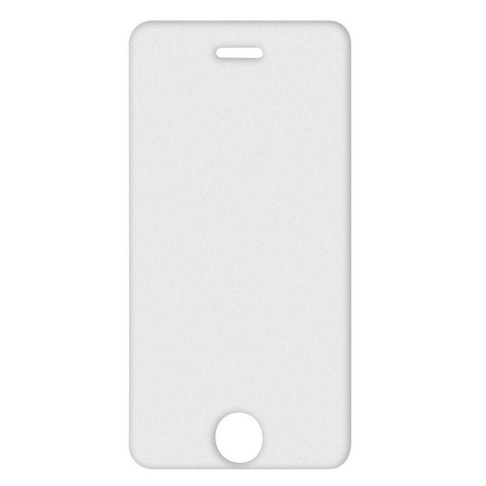 Hama Display-Schutzfolie Anti-Reflex für Apple iPhone 5/5s/5c/SE in Transparent