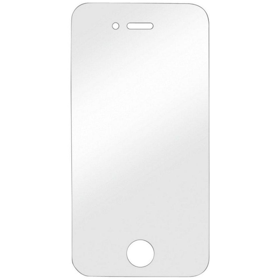 Hama Display-Schutzfolie Crystal Clear für Apple iPhone 4/4s, 2 in Transparent