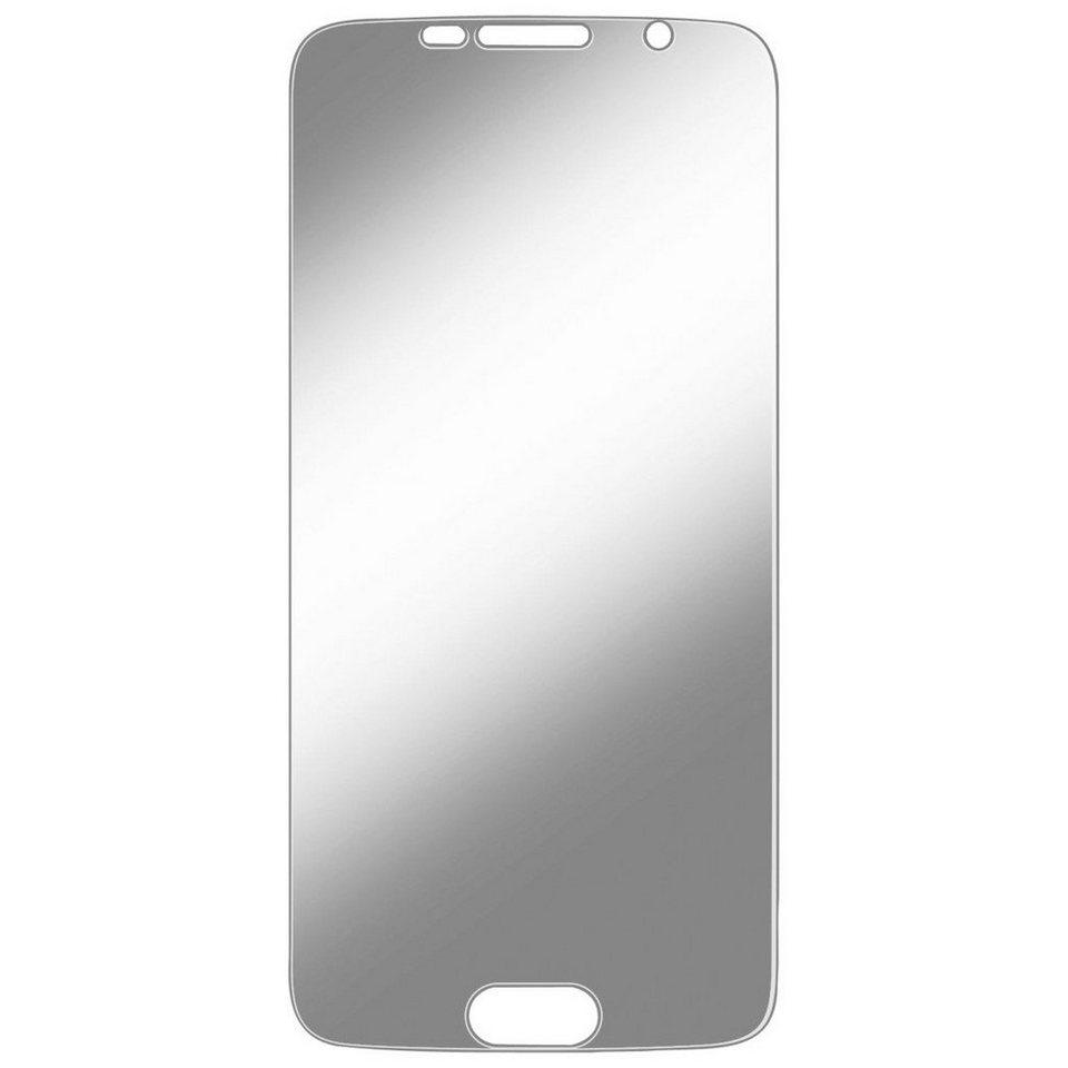 Hama Schutzfolie Displayschutzfolie für Samsung Galaxy S6 »stoßfeste Anti-Schock-Folie« in Transparent