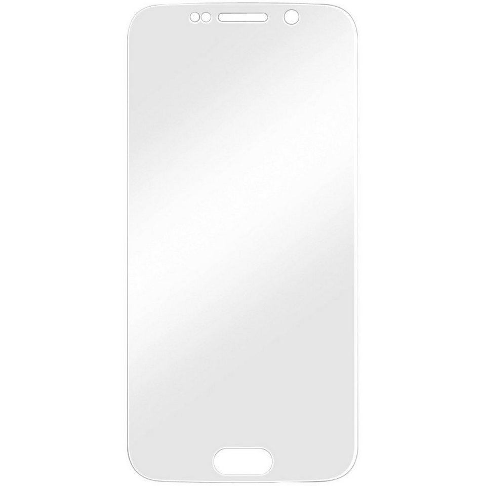 Hama Display-Schutzfolie Full Screen für Samsung Galaxy S6 edge in Transparent