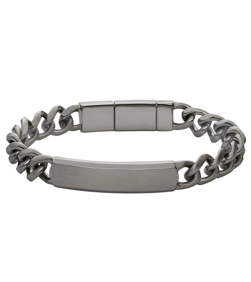 Fossil Armband, »JF02218001« in anthrazit