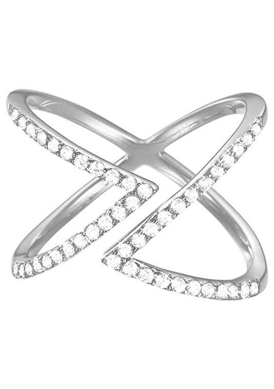 Esprit Ring mit Zirkonia, »ESPRIT-JW50217, ESRG92617A« in Silber 925