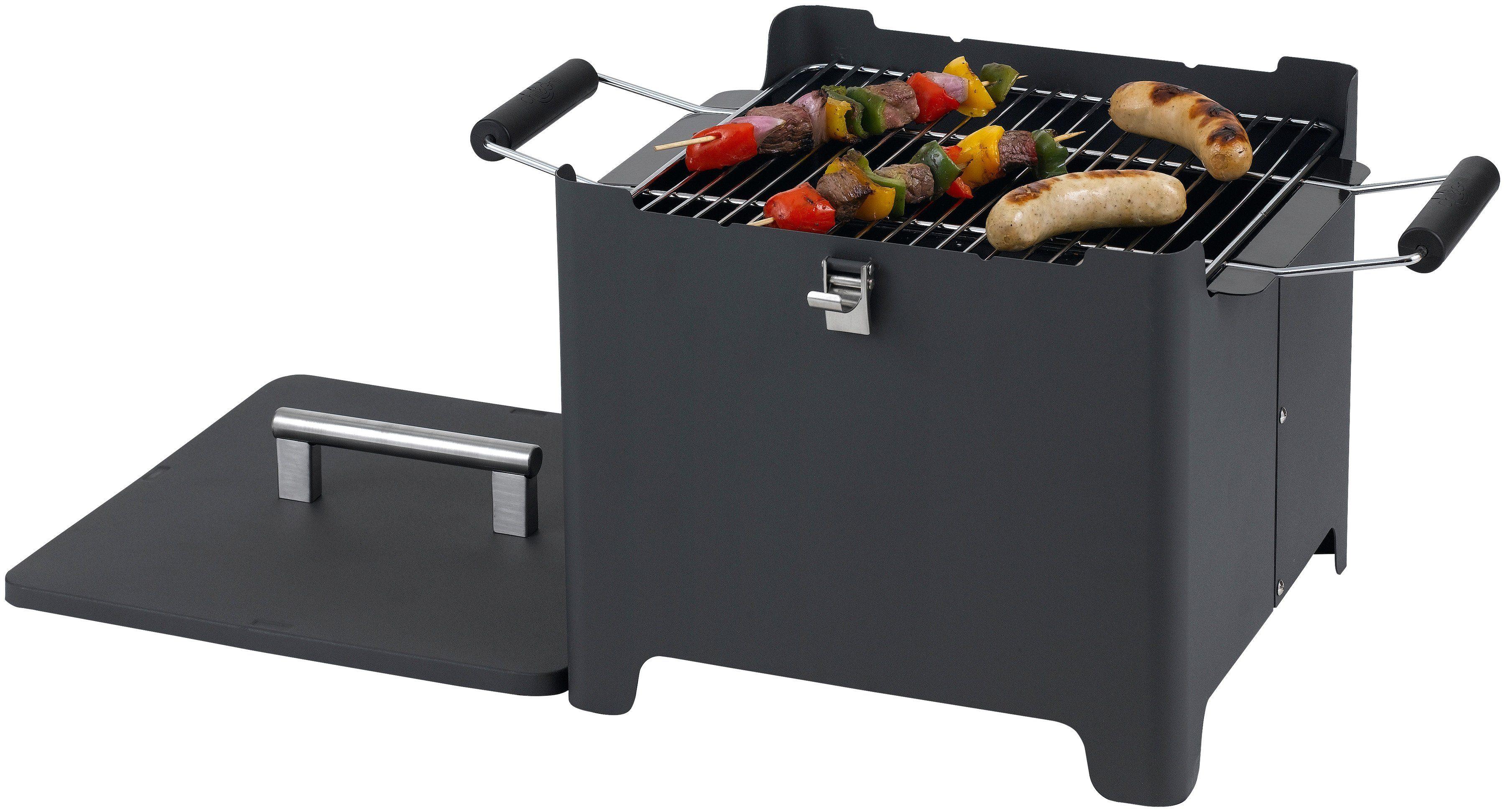 Tepro Toronto Holzkohlegrill Maße : Ollis grillabenteuer test tepro toronto grillwagen