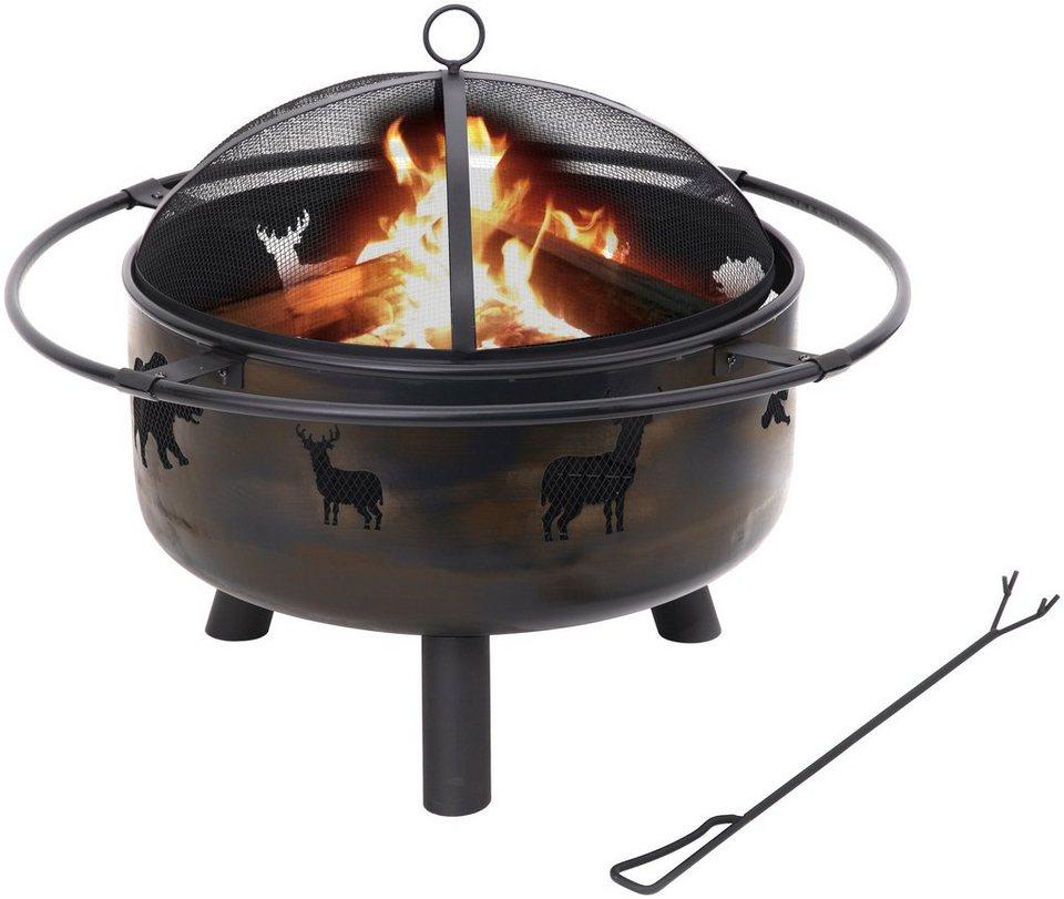 Feuerstelle »Bellwood« in schwarz