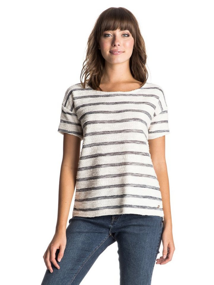 Roxy Sweatshirt »Adelaide« in adelaide stripe sand pip