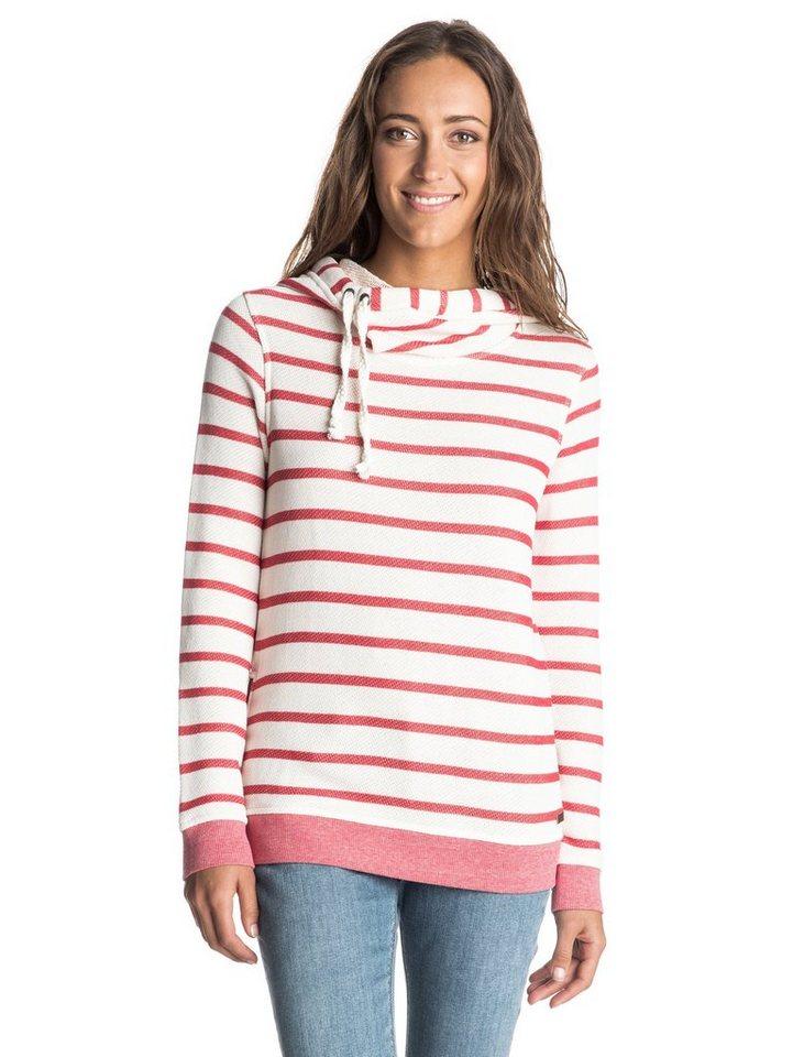 Roxy Sweatshirt »Sharing Song« in adelaide stripe tomato