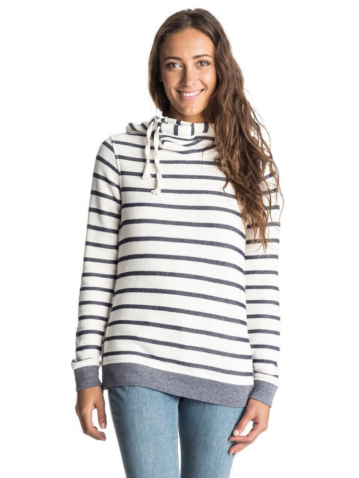 Roxy Sweatshirt »Sharing Song« in adelaide stripe sand pip
