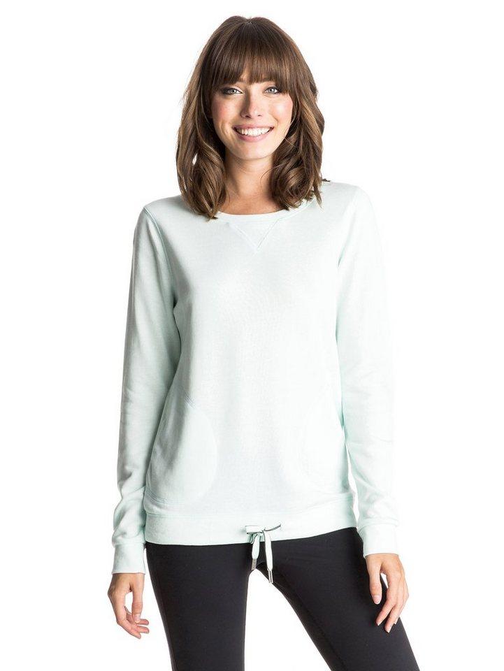 Roxy Sweatshirt »Loungin« in Soothing sea