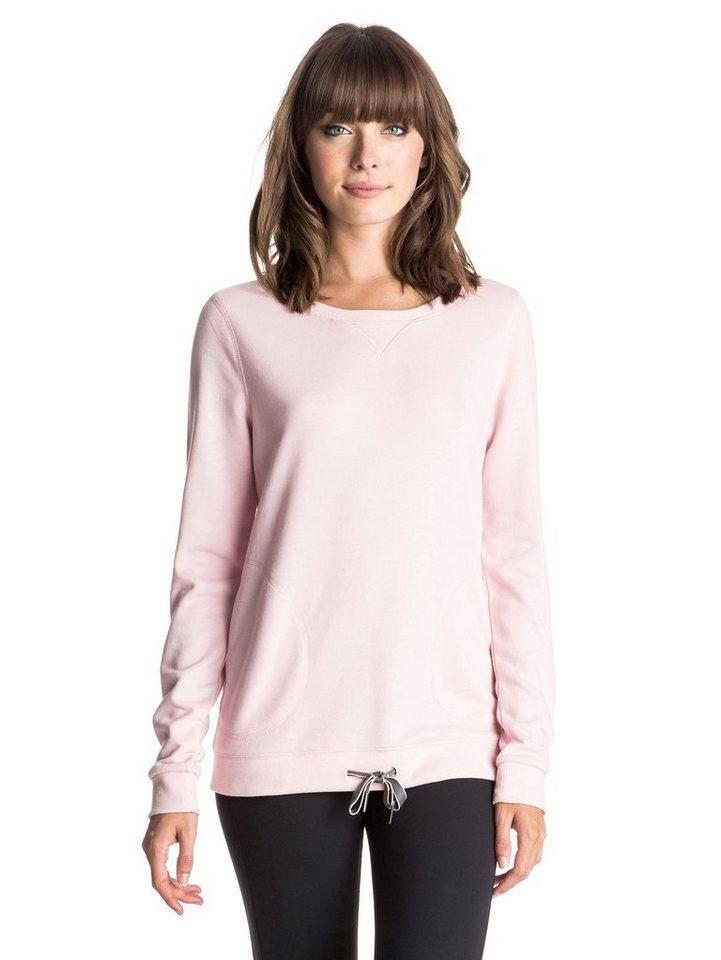 Roxy Sweatshirt »Loungin« in Rose shadow