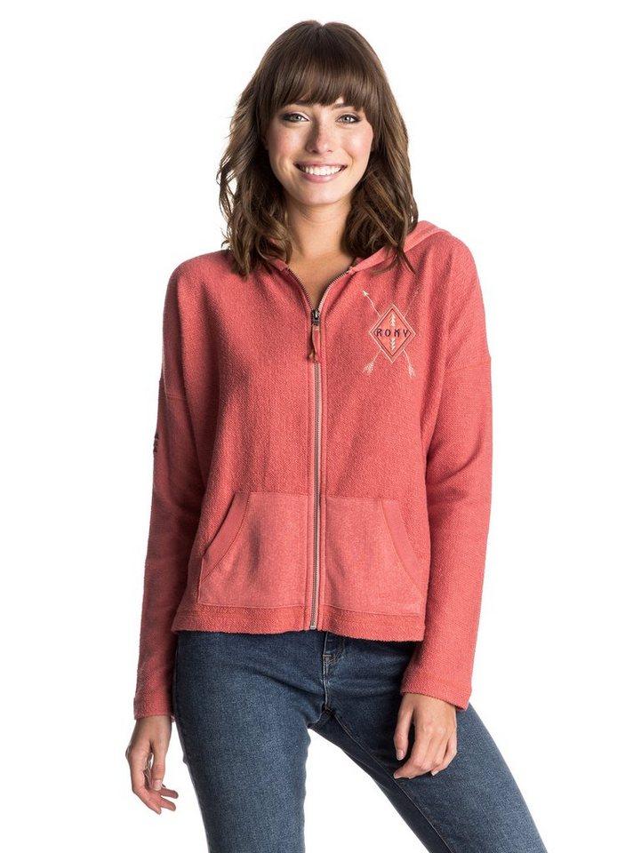 Roxy Sweatshirt »LA Calling Wild Free« in faded rose