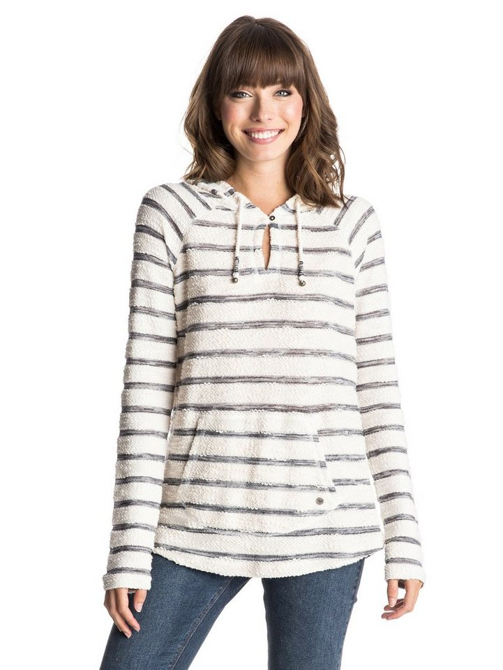 Roxy Sweatshirt »Adelaide Poncho« in Adelaide stripe sand pip