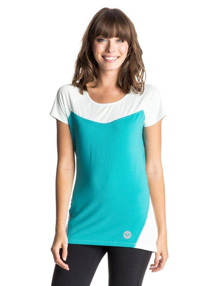 Roxy T-Shirt »Top Tier« in dark jade
