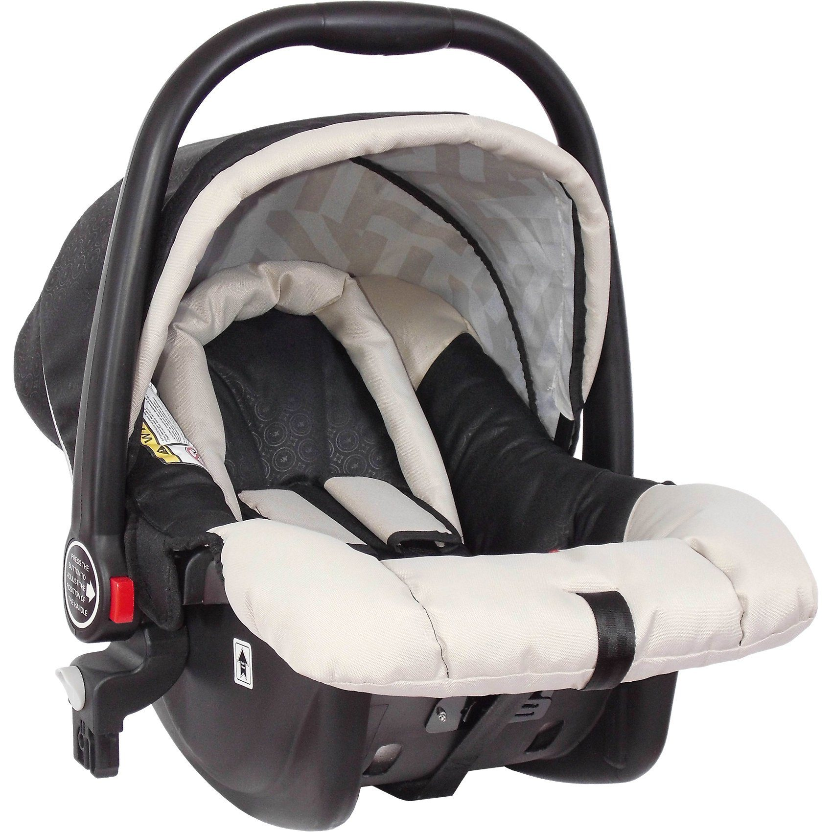 Zekiwa Babyschale für Buggy Jazz Single, black