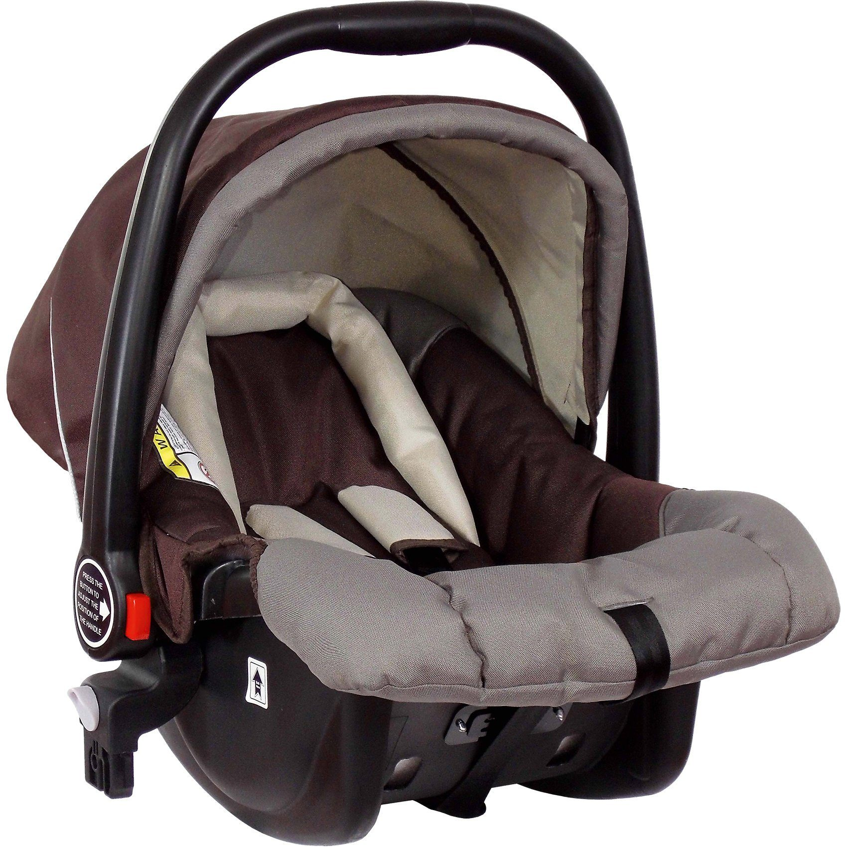 Zekiwa Babyschale für Buggy Single, coffee