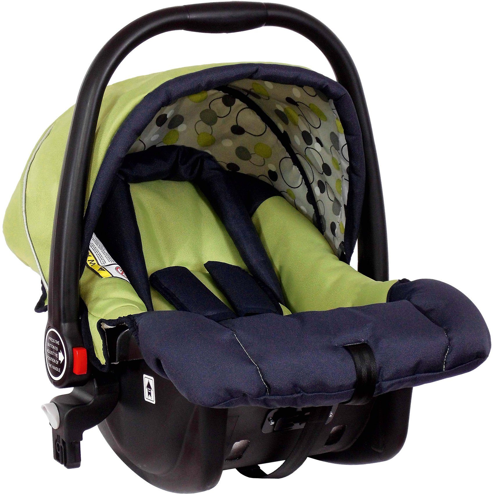 Zekiwa Babyschale für Buggy Jazz Single, green