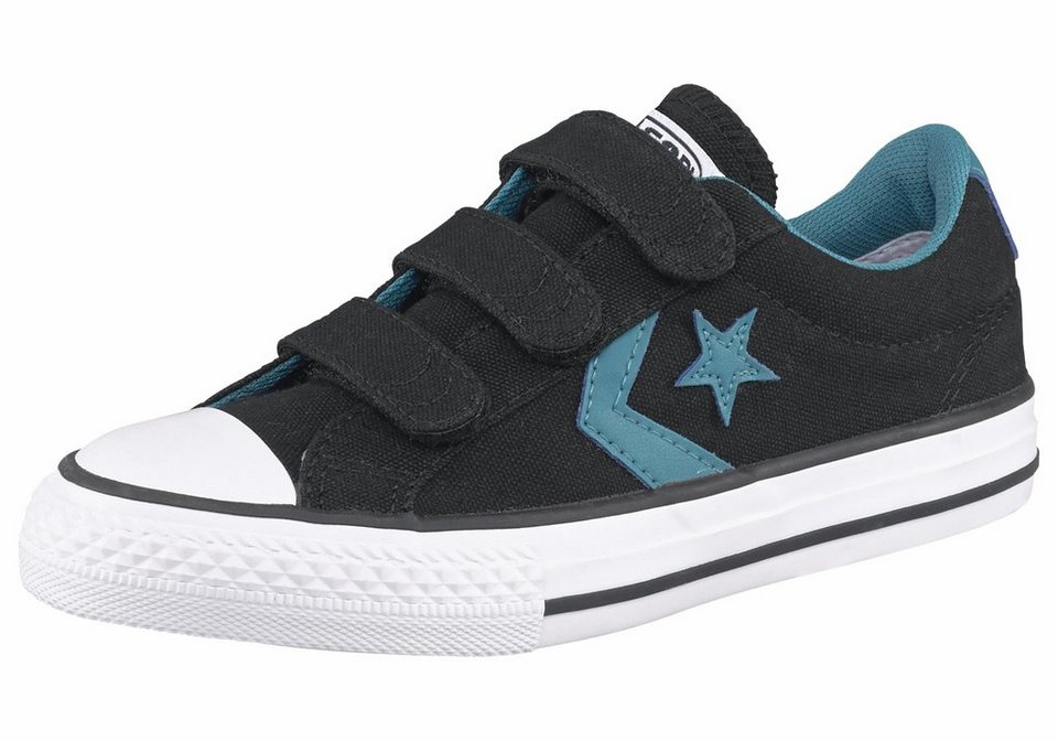 Converse Cons Star Player EV Ox Sneaker in Schwarz-Rauchblau