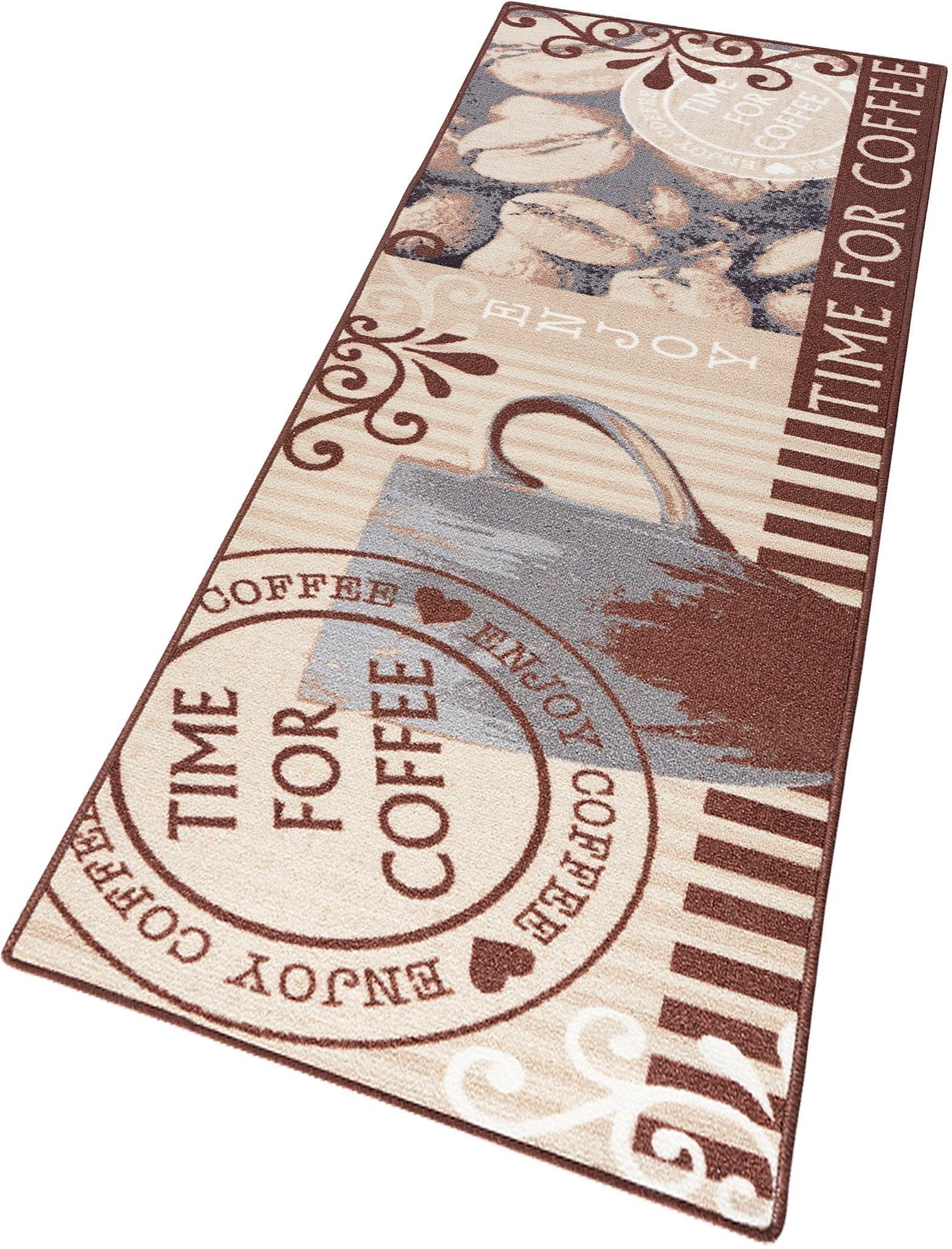 Küchenläufer »Time for Coffee«, Hanse Home, rechteckig, Höhe 8 mm