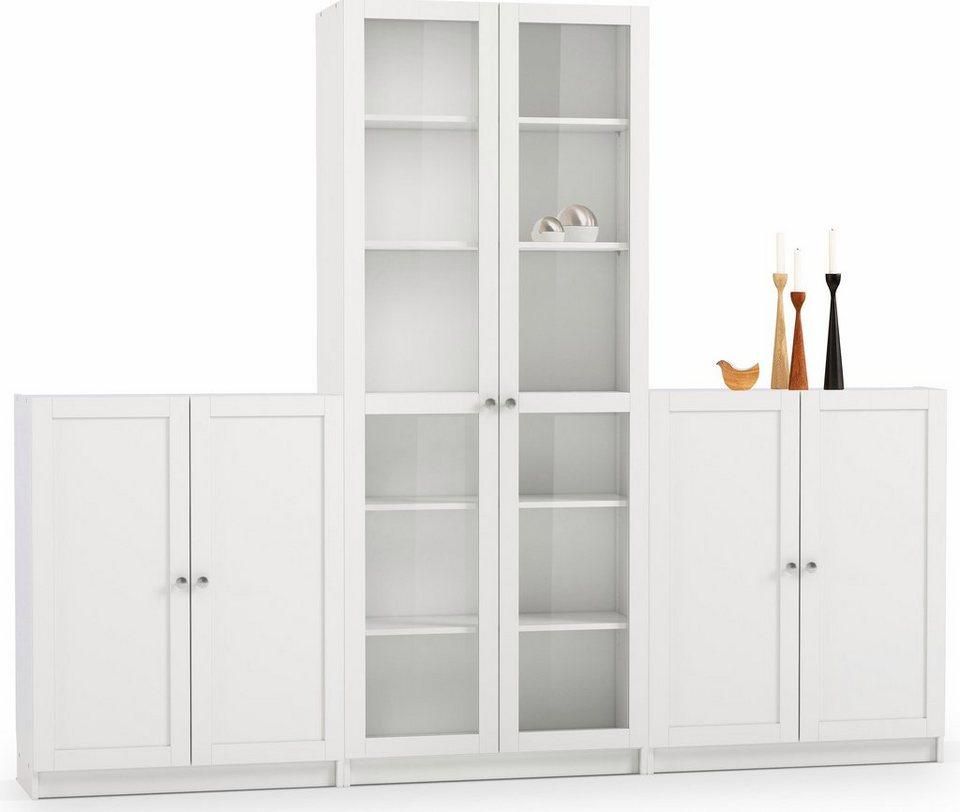 Home affaire Bürowand (6-tlg.) »Anette1« in weiß