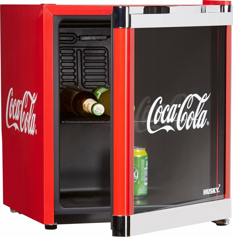 husky k hlschrank coolcube coca cola a 51 cm hoch online kaufen otto. Black Bedroom Furniture Sets. Home Design Ideas