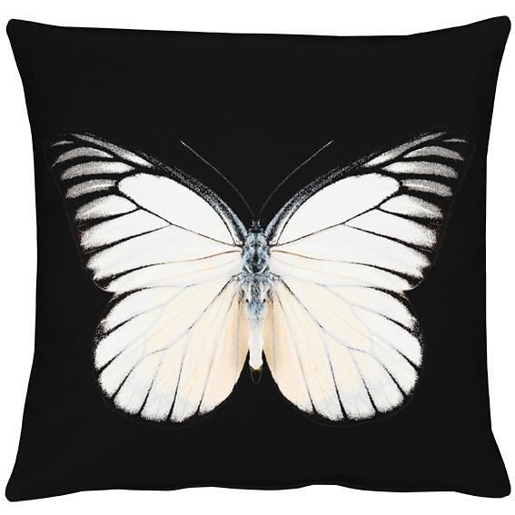 Kissenhüllen, Apelt, »Papillon« (1 Stück) in schwarz/natur