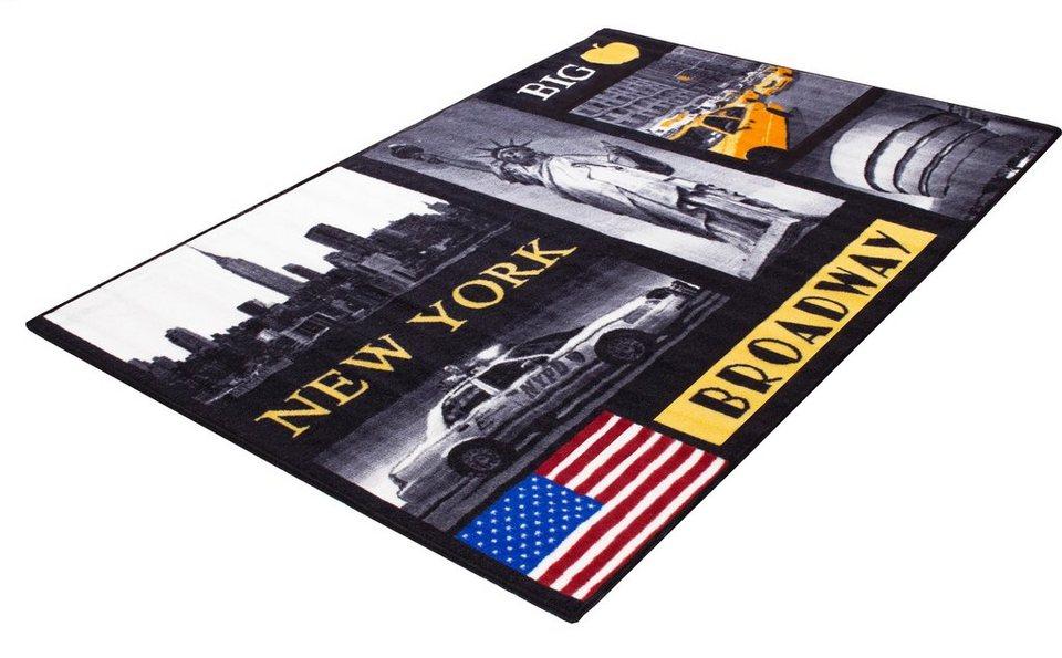 Teppich New York Andiamo Rechteckig Hohe 5 Mm Motiv Teppich