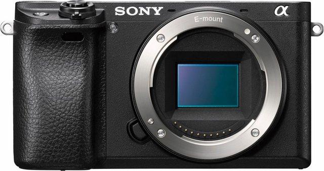 Systemkameras - Sony »Alpha ILCE 6300« Systemkamera Body (24,2 MP, WLAN (Wi Fi), NFC, Gesichtserkennung, HDR Aufnahme, Makroaufnahme)  - Onlineshop OTTO
