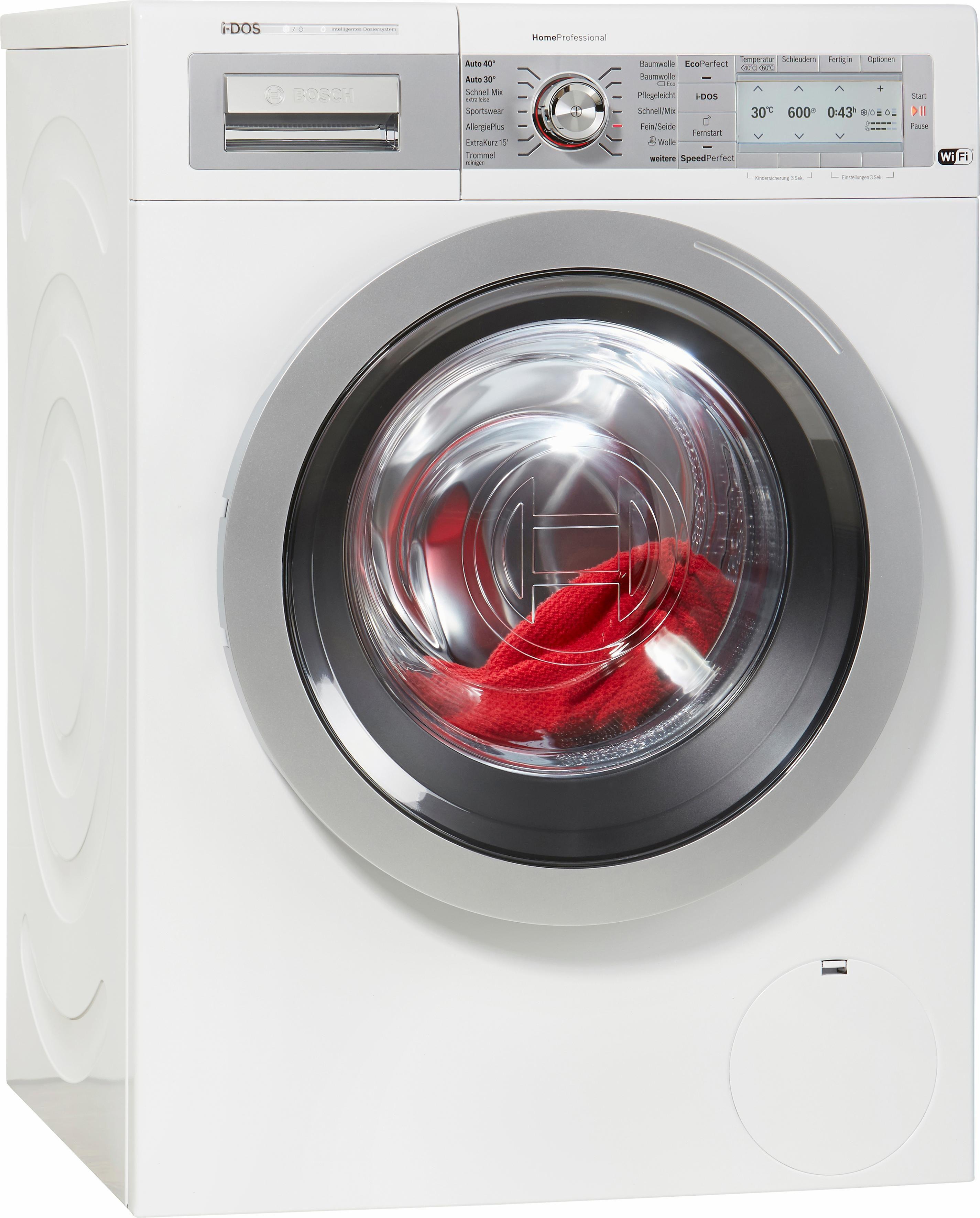 BOSCH Waschmaschine HomeProfessional i-Dos WAYH2840, A+++, 8 kg, 1600 U/Min