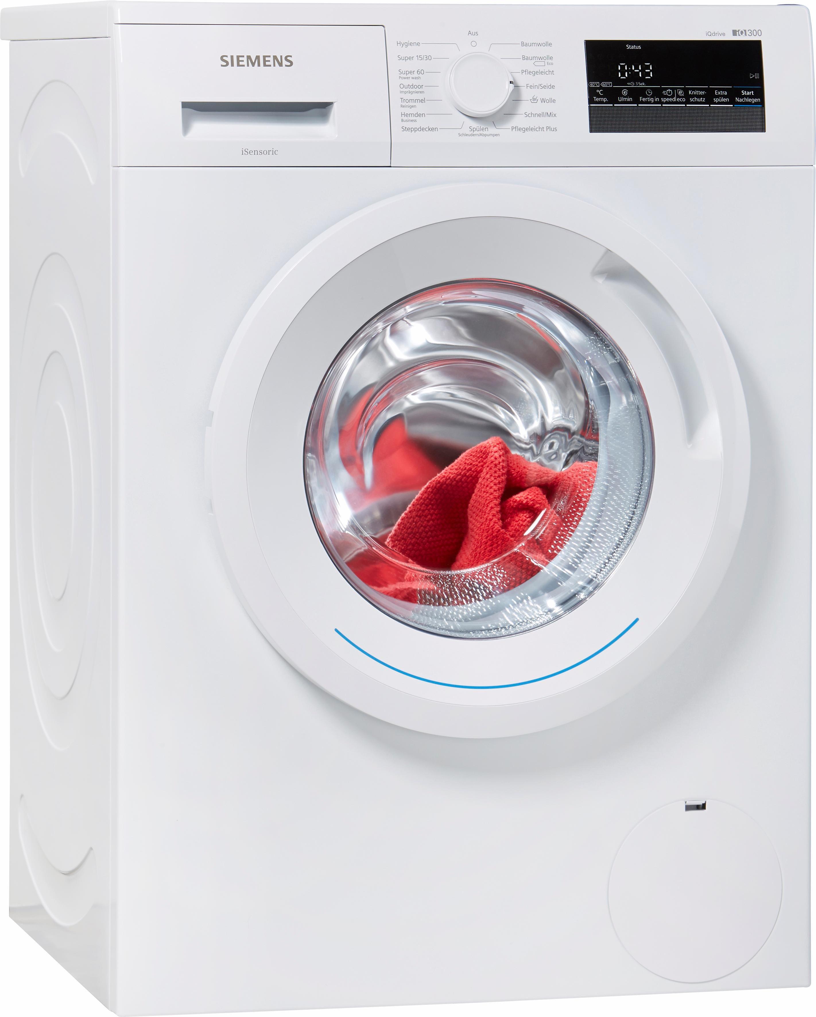 SIEMENS Waschmaschine iQ300 WM14N2ECO, A+++, 7 kg, 1400 U/Min