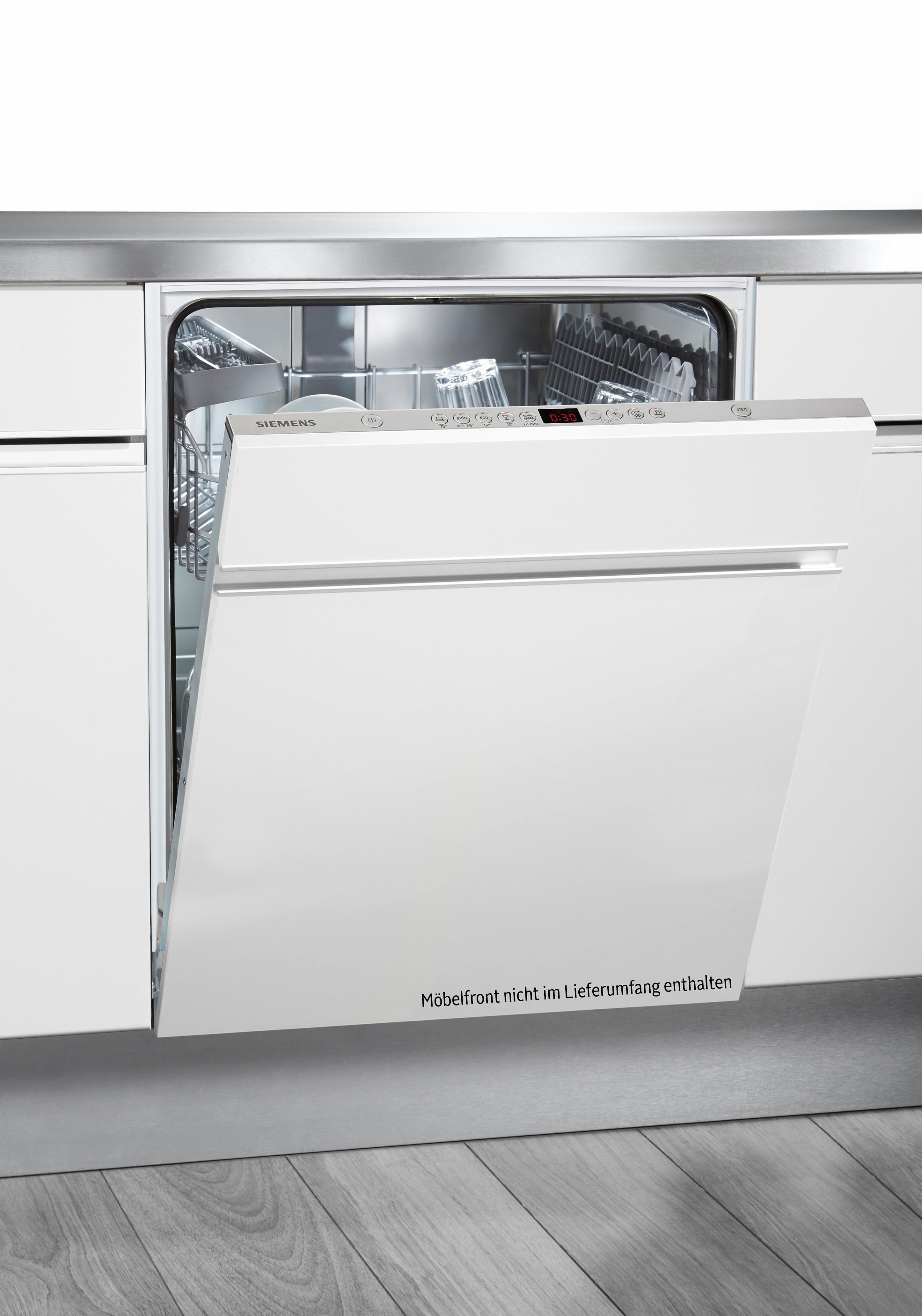 SIEMENS Vollintegrierbarer Einbaugeschirrspüler iQ500 SN65P032EU, A++, 6,5 Liter, 13 Maßgedecke