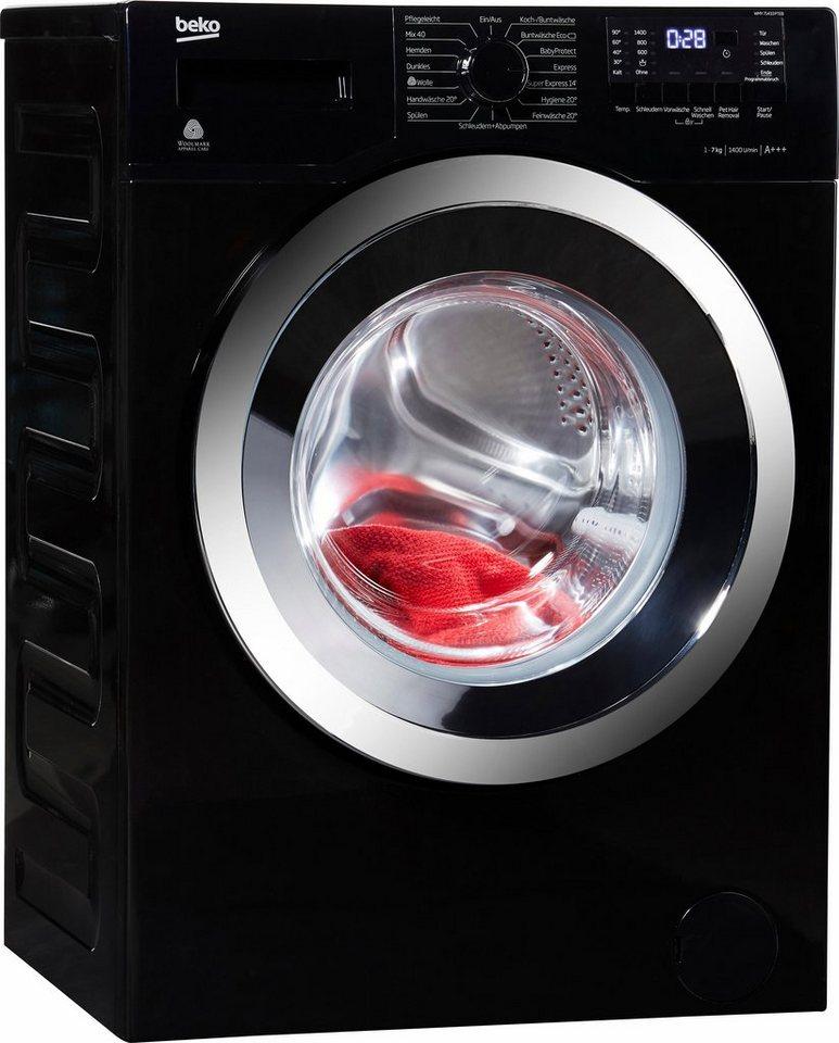 BEKO Waschmaschine WMY 71433 PTE, 7 kg, 1400 U/Min