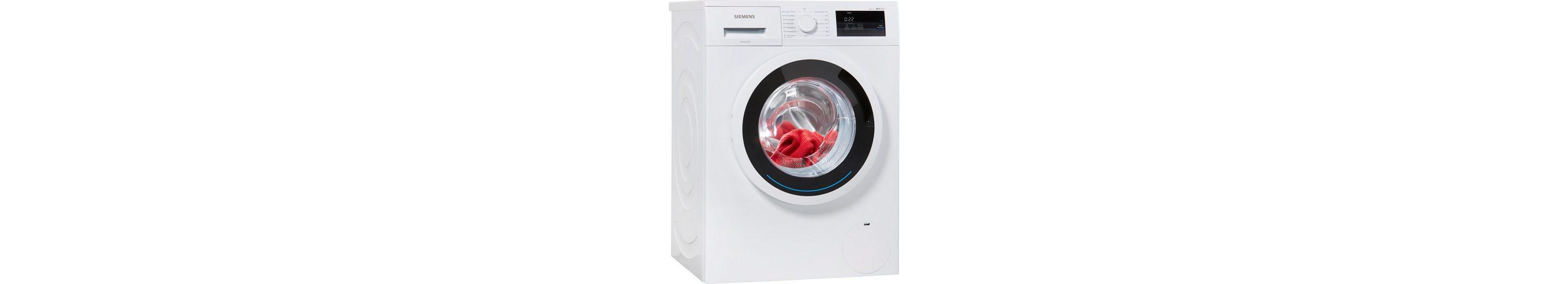 SIEMENS Waschmaschine WM14N0ECO, A+++, 6 kg, 1400 U/Min