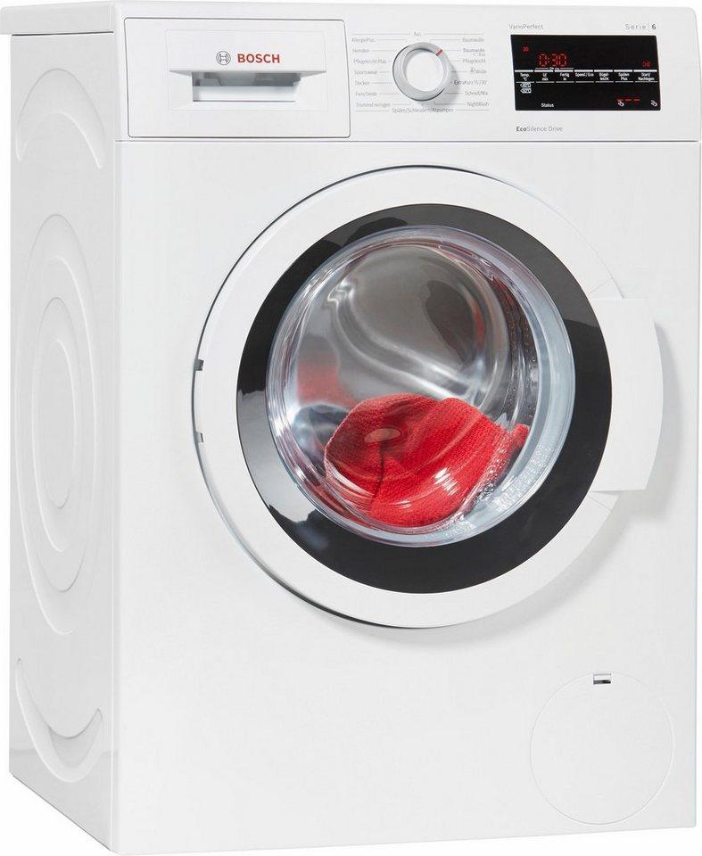 BOSCH Waschmaschine WAT28420, A+++, 7 kg, 1400 U/Min in weiß