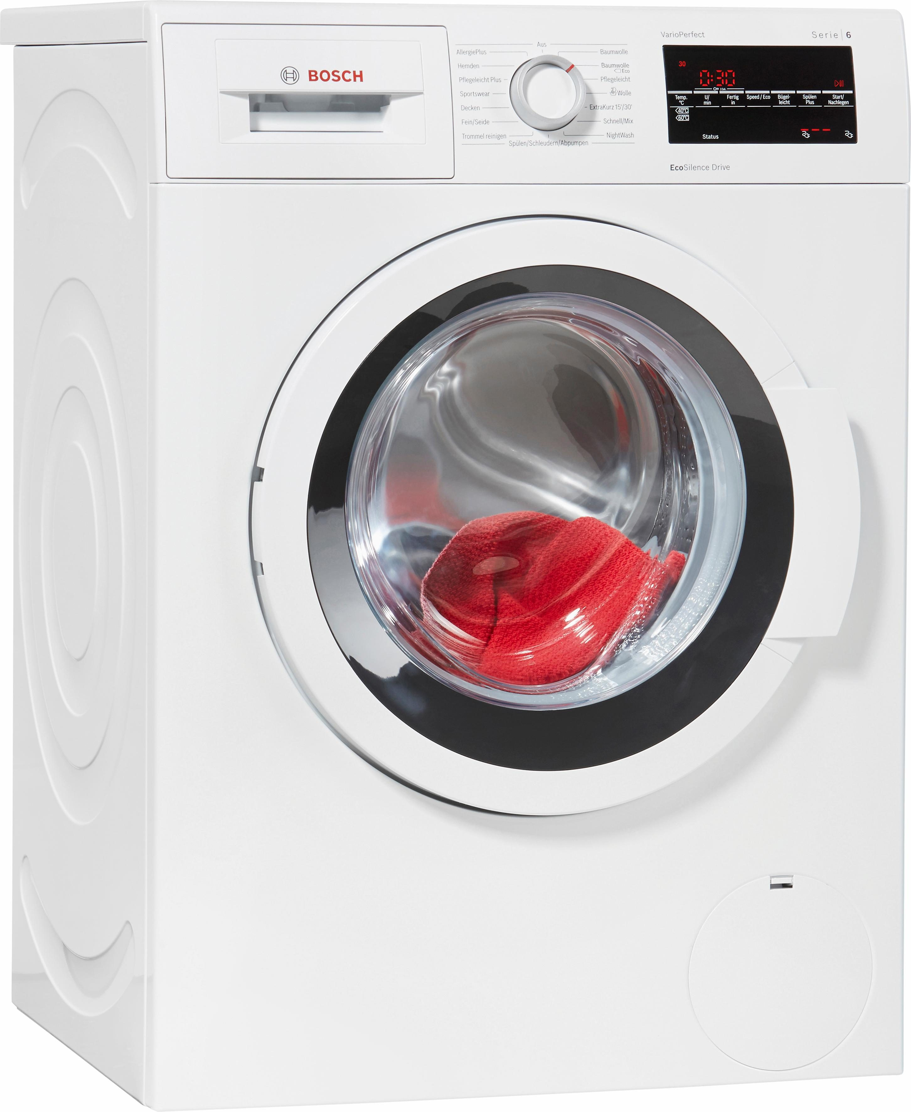 BOSCH Waschmaschine Serie 6 WAT28420, 7 kg, 1400 U/Min