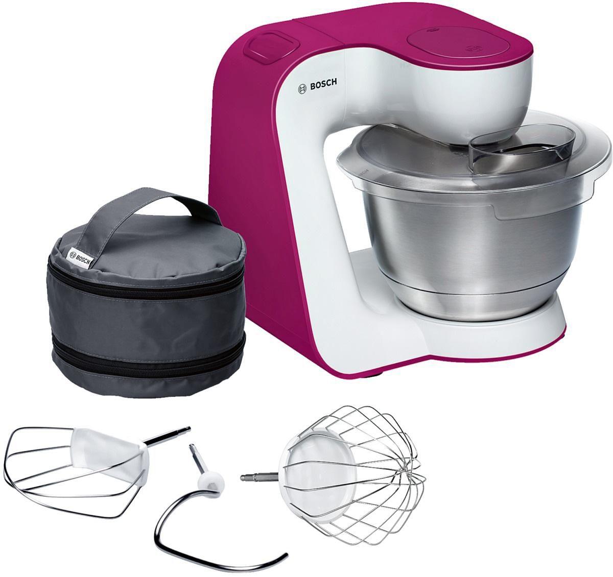 Bosch Universal-Küchenmaschine »StartLine MUM54P00«, 900 Watt, weiß / wild purple