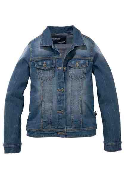 Arizona Jeansjacke, mit Eingrifftaschen