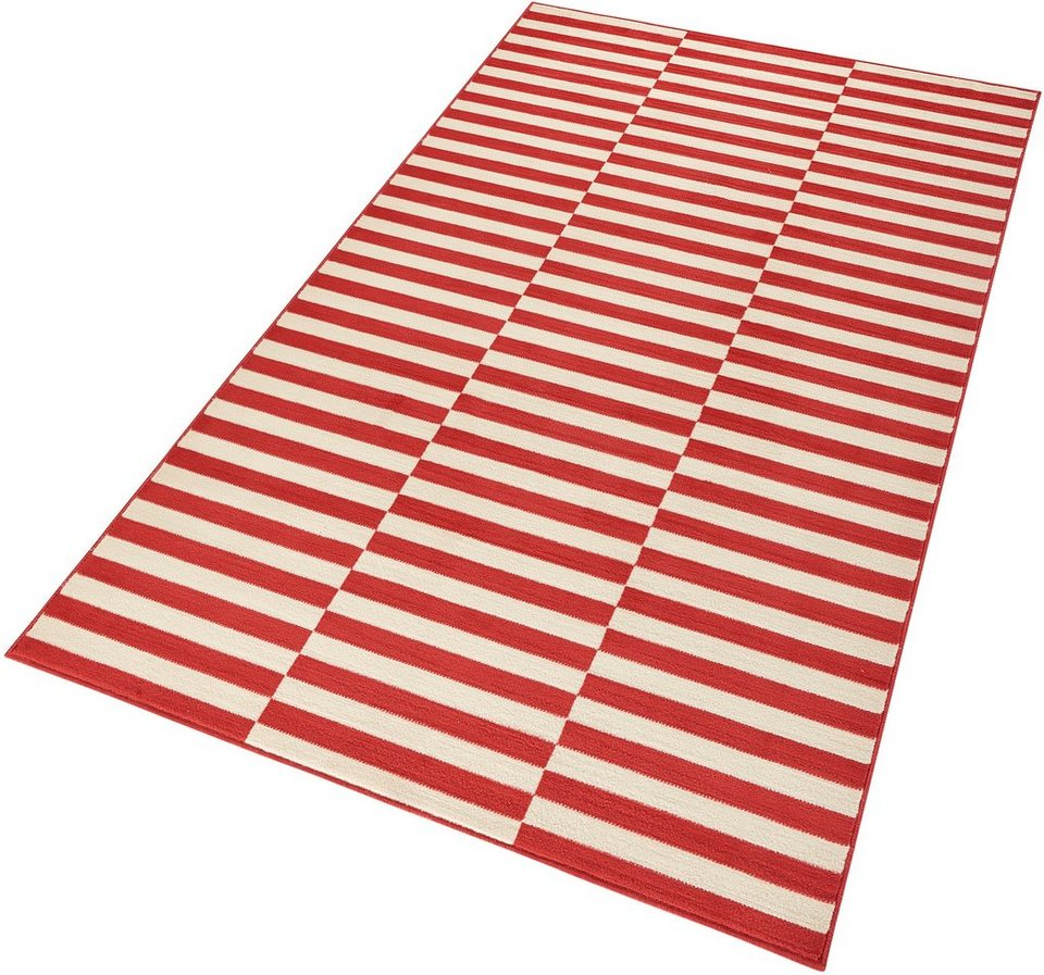 Teppich »Panel«, Hanse Home, rechteckig, Höhe 9 mm in rot