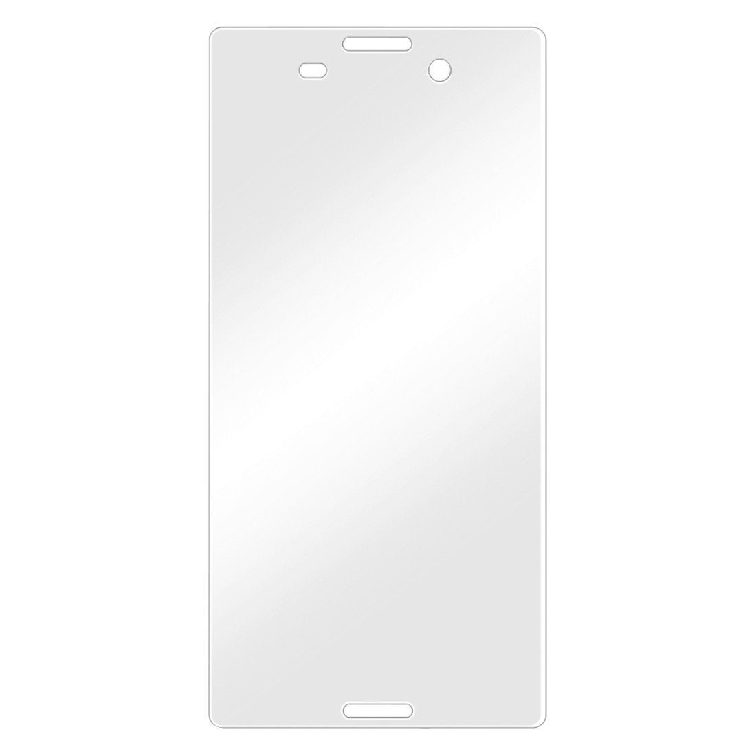 Hama Displayschutzfolie für Sony Xperia M4 Aqua, 2er Set Folie »Displayschutz Schutzfolie«