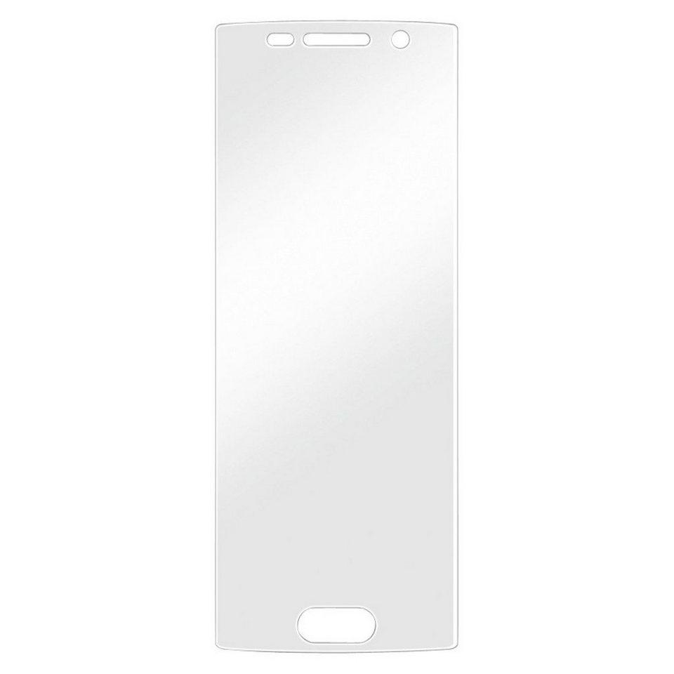 Hama Displayschutzfolie für Samsung Galaxy S6 Edge, 2er Set »Displayschutz Schutzfolie« in Transparent