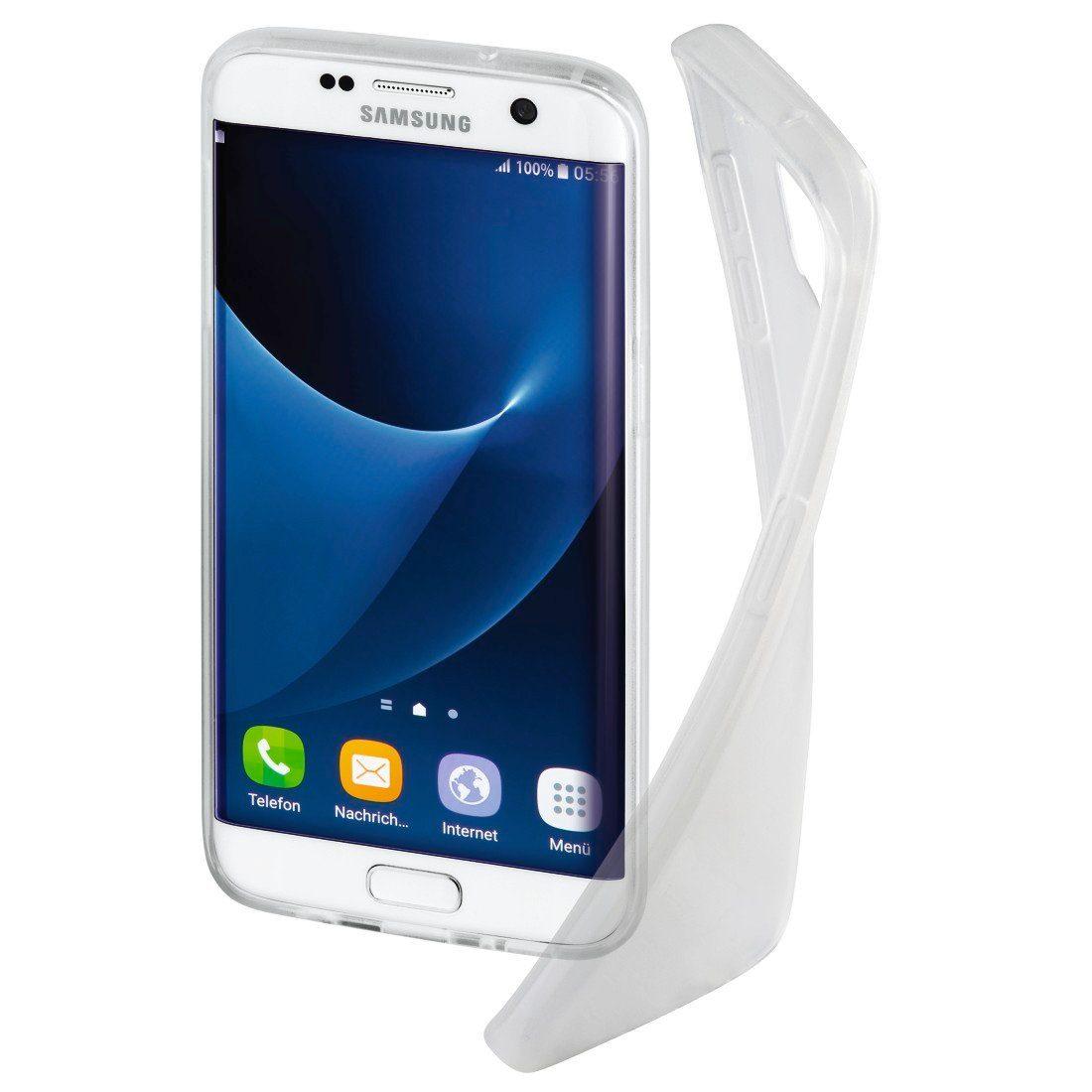Hama Cover Crystal für Samsung Galaxy S7 Edge, Transparent