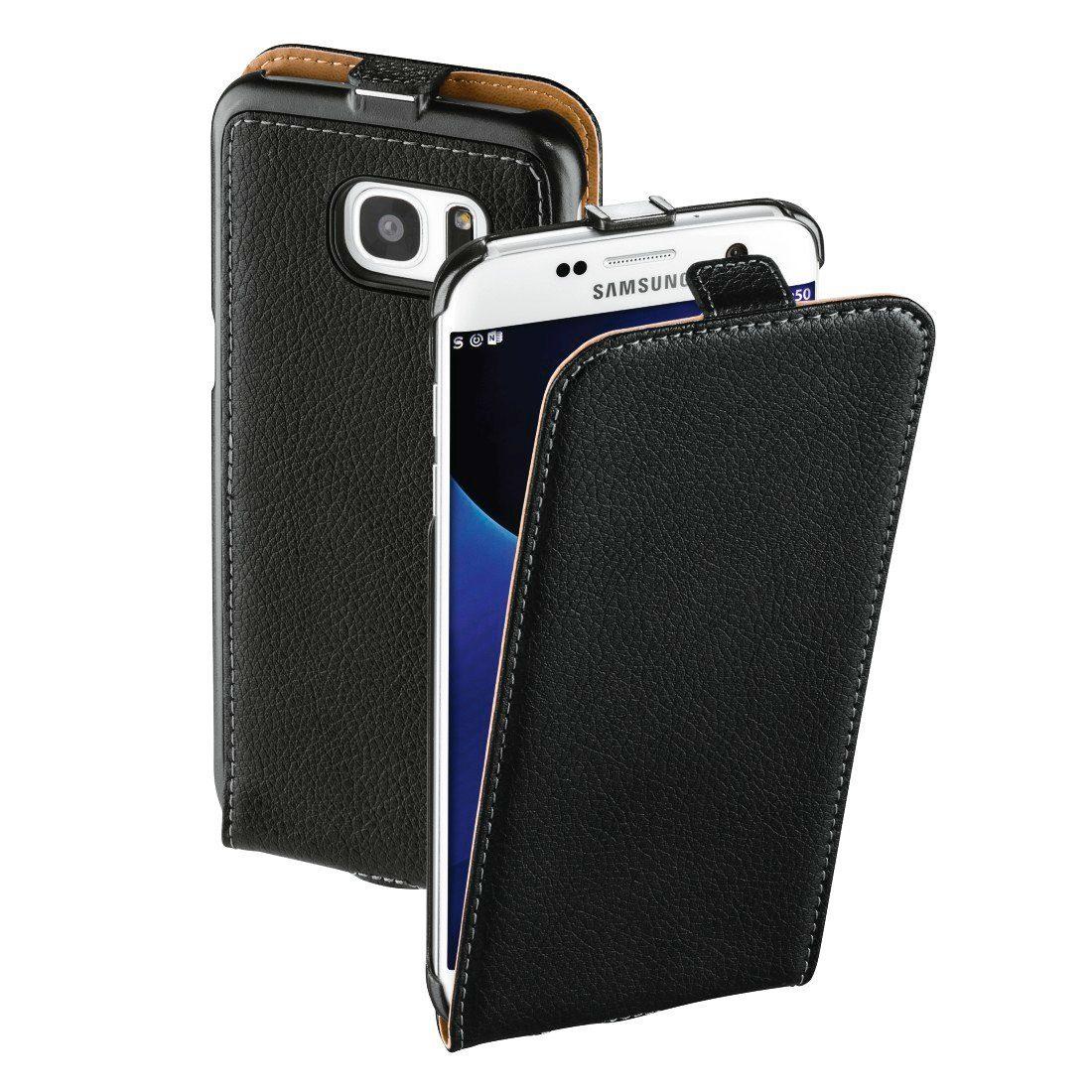 Hama Leder Hülle für Samsung Galaxy S7 Edge Handytasche Tasche »Handy Schutzhülle Flip Case«