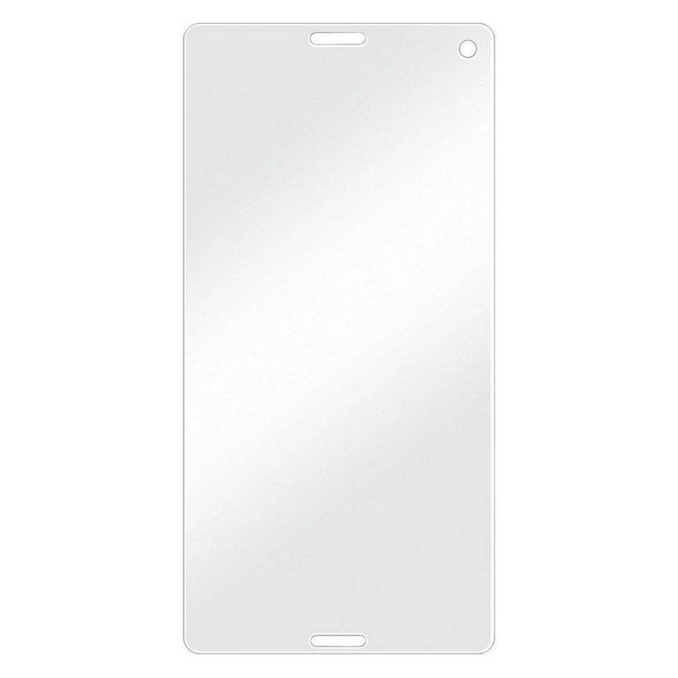 Hama Displayschutzfolie für Sony Xperia Z5 Compact 2er Set Folie »Displayschutz Schutzfolie« in Transparent