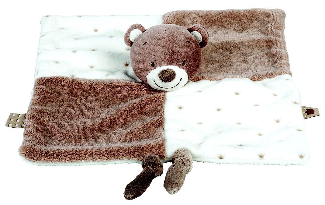NATTOU Kuscheltuch, »Tom der Bär«