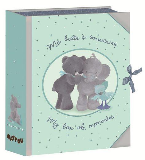 nattou aufbewahrungsbox f r kinder blau schatzdose. Black Bedroom Furniture Sets. Home Design Ideas