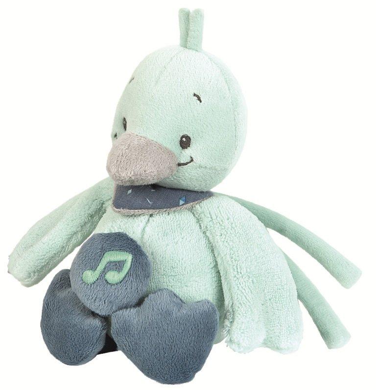 NATTOU Minispieluhr, »Nestor die Ente«