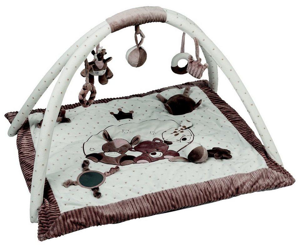 nattou krabbeldecke mit bogen beige online kaufen otto. Black Bedroom Furniture Sets. Home Design Ideas
