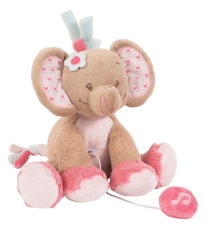 NATTOU Minispieluhr, »Rose der Elefant«
